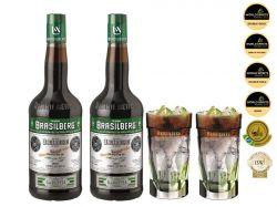 2 Brasilberg + 2 Copos BSB