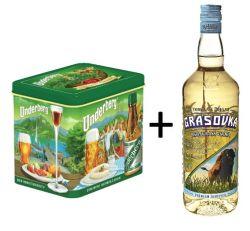 Gift Tin Underberg + Grasovka